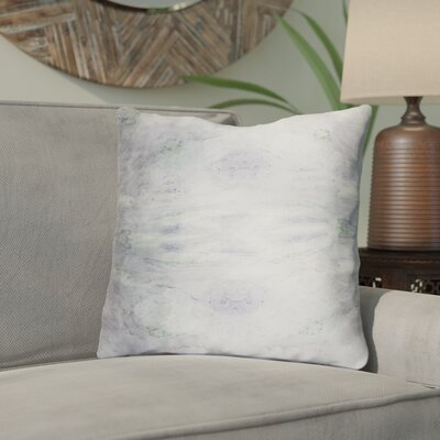 Antram Silk Throw Pillow Size: 20 H x 20 W x 4 D, Color: Gray/Neutral