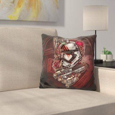 Warrior Rg Throw Pillow