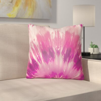 Calila Square Throw Pillow Size: 20 H x 20 W x 4 D, Color: Pink