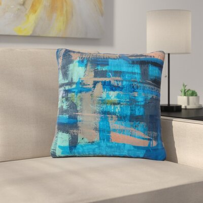 Bruce Stanfield Hyper Painting Outdoor Throw Pillow Size: 16 H x 16 W x 5 D