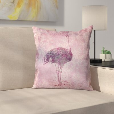 Vintage Animal Color 8 Throw Pillow Size: 16 x 16
