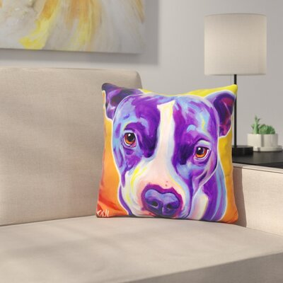 Pit Bull Sadie Throw Pillow