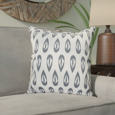 Bridgehampton Outdoor Throw Pillow Size: 18 H x 18 W, Color: Gray