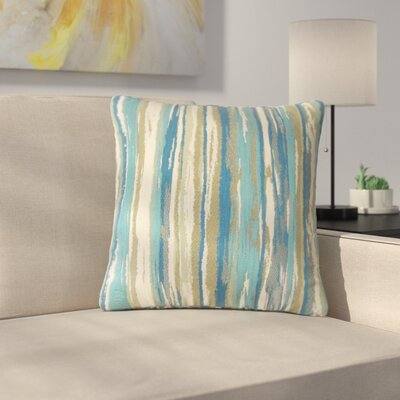 Spero Throw Pillow Color: Caribbean, Size: 20 x 20