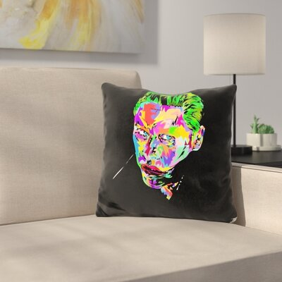 The Joker Sucide Squad Throw Pillow