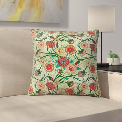 Floral 16 Square Pillow Cover Size: 20 x 20