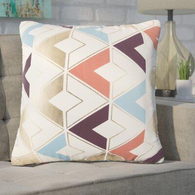 Catlin Decorative 100% Cotton Throw Pillow