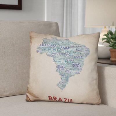 Gephart Brazil Throw Pillow