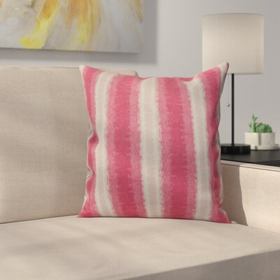 Navarro Lines Throw Pillow Size: 26 H x 26 W, Color: Pink