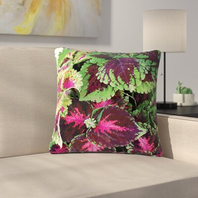 Louise Machado Forest Outdoor Throw Pillow Size: 16 H x 16 W x 5 D