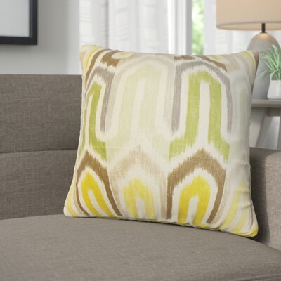Kaia Geometric Linen Throw Pillow