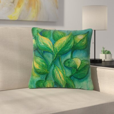 Cyndi Steen Beginnings Nature Outdoor Throw Pillow Size: 16 H x 16 W x 5 D
