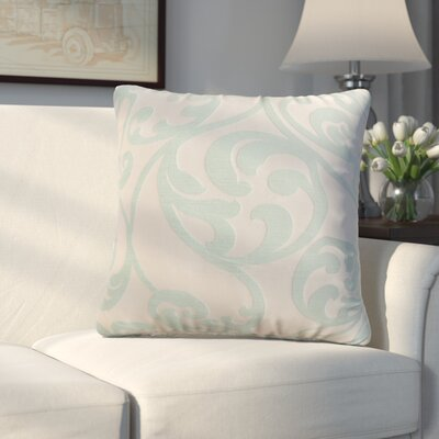 Chalfont Throw Pillow Color: Seafoam