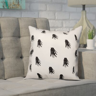 Nowell Beaulieu Tassel Print Pillow Size: 16 x 16, Type: Throw Pillow