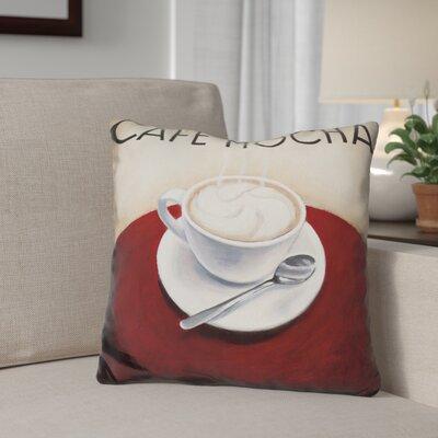 Gerardi Cafe Moderne Throw Pillow