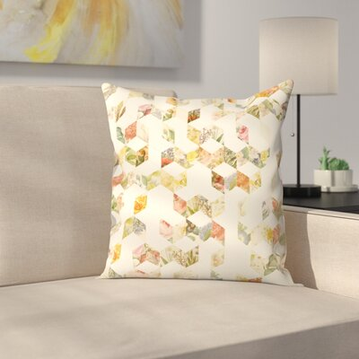 Florent Bodart Keziah Flowers Throw Pillow Size: 16 x 16