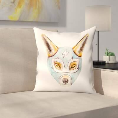 Florent Bodart Andrew Fox Wrestler Throw Pillow Size: 16 x� 16