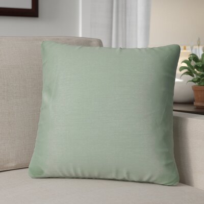 Kiera Square Throw Pillow Color: Light Blue