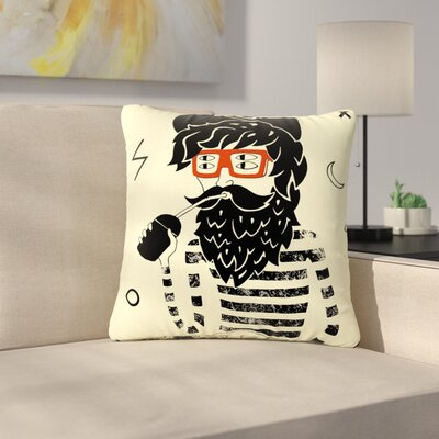 Anya Volk Dreamer People Outdoor Throw Pillow Size: 16 H x 16 W x 5 D