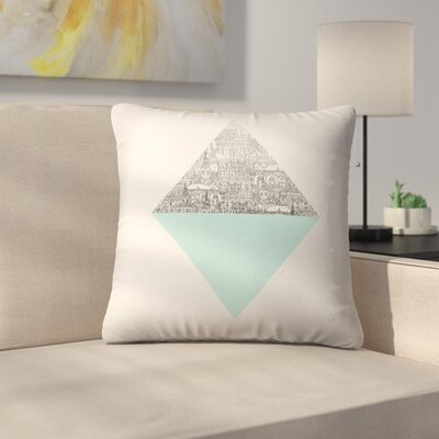 Diamond Throw Pillow Size: 18 x 18