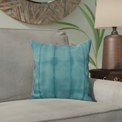 Viet Pool Indoor/Outdoor Throw Pillow Size: 20 H x 20 W, Color: Teal