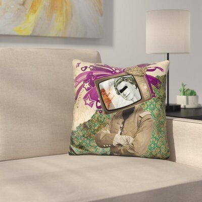 Queen and King Throw Pillow