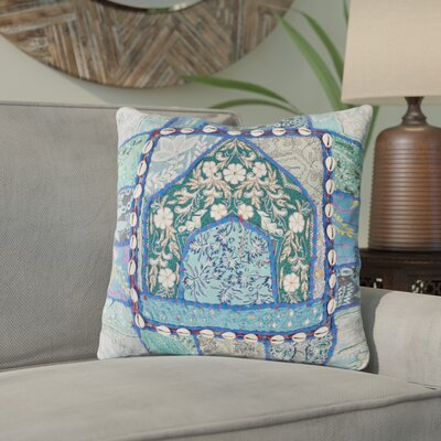 Hays Hues Throw Pillow Size: 18 H x 18 W, Filler: Down