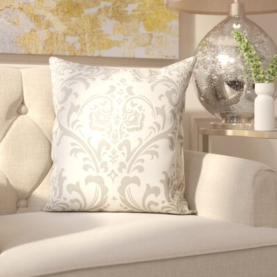 Burlington 100% Cotton Throw Pillow Color: Storm Twill, Size: 20 x 20