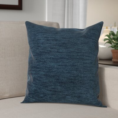 Danin Modern Outdoor Throw Pillow Color: Peacock, Size: Small