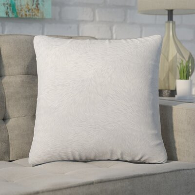 Cottrill Square Throw Pillow Color: Gray