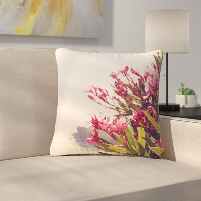 Sylvia Coomes Flowers in Paradise Outdoor Throw Pillow Size: 16
