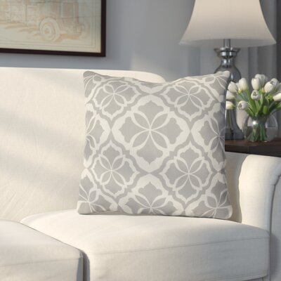 Murdock Geometric Print Throw Pillow Size: 18 H x 18 W x 3 D, Color: Gray