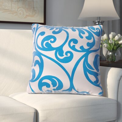 Chalfont Throw Pillow Color: Cobalt