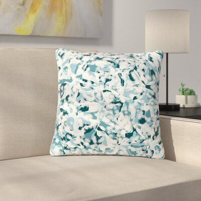 Angelo Cerantola Waterflowers Digital Outdoor Throw Pillow Size: 18 H x 18 W x 5 D