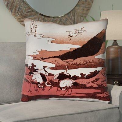 Montreal Japanese Cranes Euro Pillow