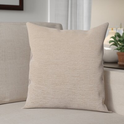 Danin Modern Outdoor Throw Pillow Color: Sand, Size: Large