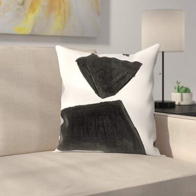 Olimpia Piccoli Without Words I Throw Pillow Size: 18 x 18