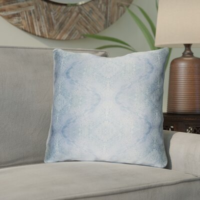 Antram Silk Throw Pillow Size: 22 H x 22 W x 4 D, Color: Blue