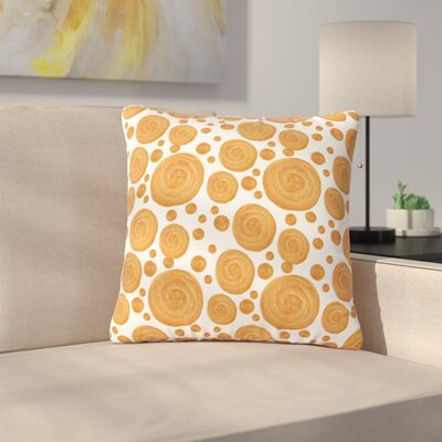Alisa Drukman Pattern Geometric Outdoor Throw Pillow Size: 18 H x 18 W x 5 D