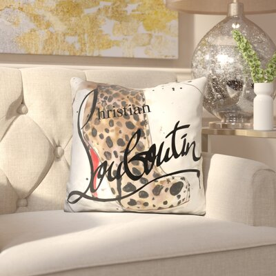 Adriana Go Wild Louboutin Throw Pillow