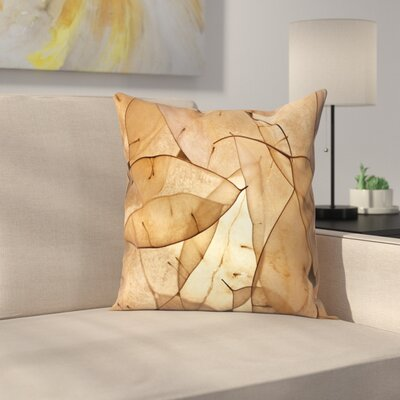 Maja Hrnjak Leaves1 Throw Pillow Size: 18 x 18