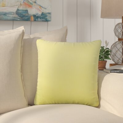 Dugan Soft Suede Throw Pillows Color: Yellow