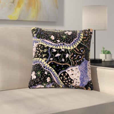 Fernanda Sternieri Oriental Patchwork Pattern Outdoor Throw Pillow Size: 18 H x 18 W x 5 D
