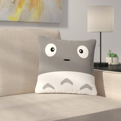 Jackie Rose My Neighbor Animal Outdoor Throw Pillow Size: 18 H x 18 W x 5 D