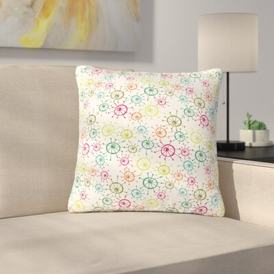 Holly Helgeson Mod Flower Burst Outdoor Throw Pillow Size: 16 H x 16 W x 5 D