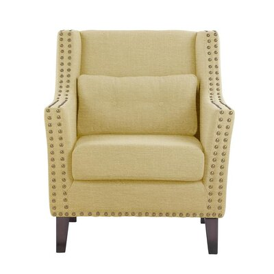 Despain Wingback Chair Upholstery: Aldridge Cream Solid