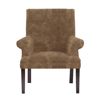 Hudspeth Armchair Upholstery: Sonoma Brown Solid
