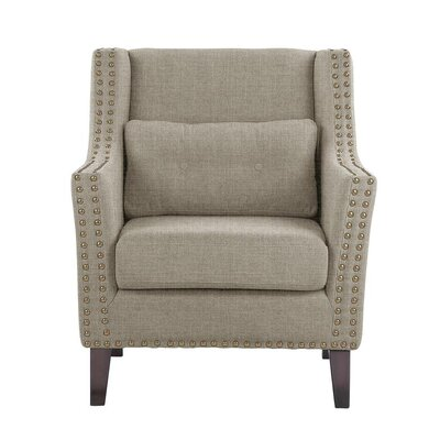 Despain Wingback Chair Upholstery: Sonoma Light Gray Solid