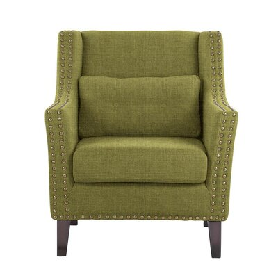 Despain Wingback Chair Upholstery: Sonoma Olive Green Solid
