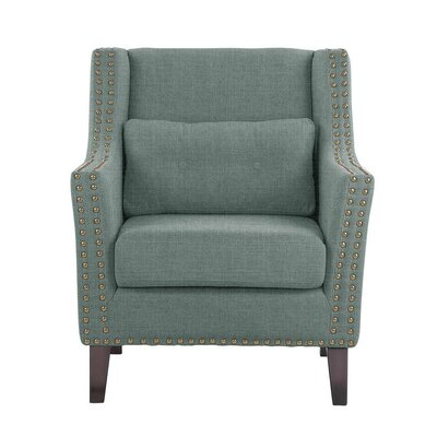 Despain Wingback Chair Upholstery: Sonoma Blue Gray Solid
